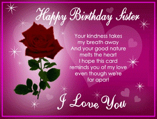 Happy Birthday Muslim Sister Wishes For Sister3
