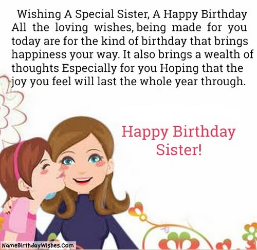 Sister Birthday Wishes Quote: 30 Birthday Wishes For Muslim Sister