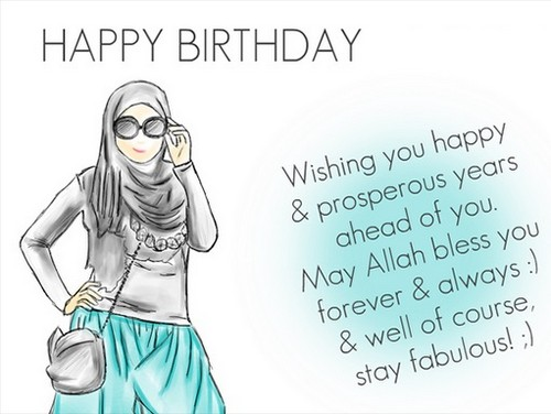 30 Birthday Wishes For Muslim Sister Wishesgreeting