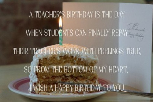 Birthday Wishes For Teacher Quotes ~ 30 happy birthday wishes for chemistry teacher wishesgreeting