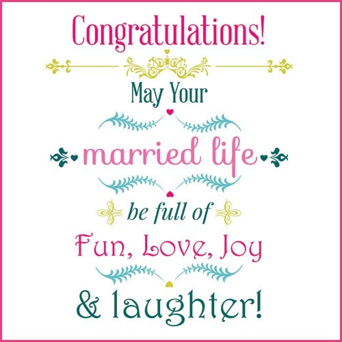 40 Happy Married Life Wishes