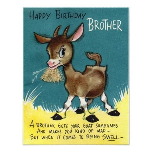 Happy Birthday Crazy Brother Wishes | WishesGreeting