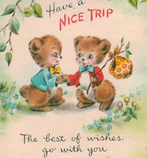 Funny happy journey wishes