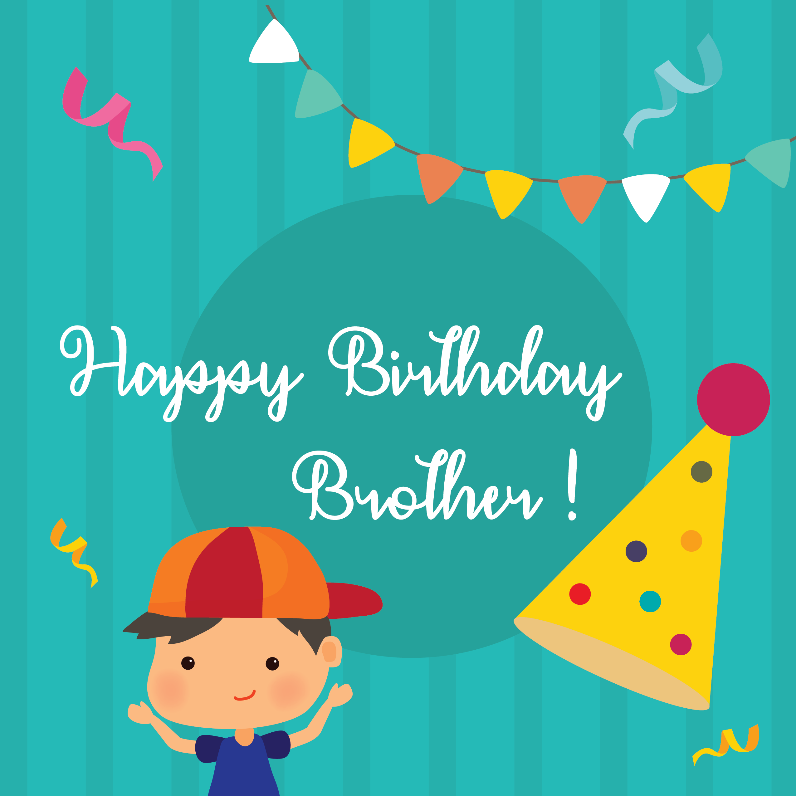 Happy Birthday Wishes for Brother, Happy Birthday Brother