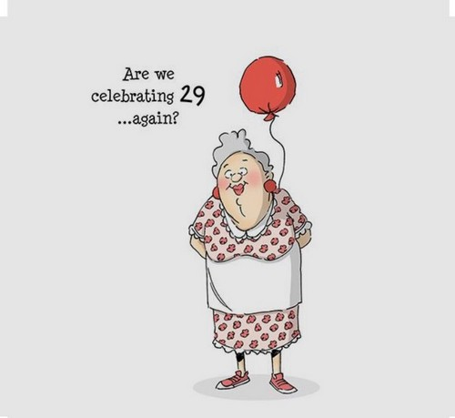 Happy Birthday Old Lady Wishes For Lady2