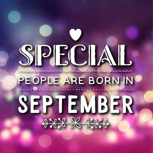 Happy Birthday September Wishesgreeting