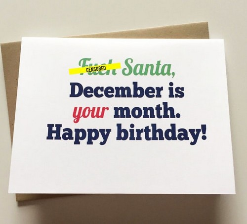 Happy Birthday December Wishesgreeting