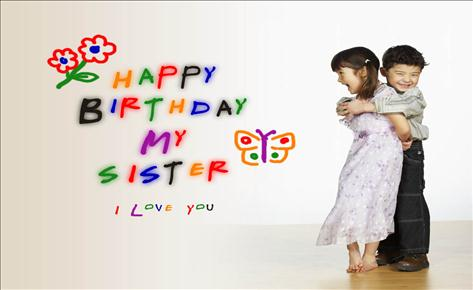 Happy Birthday Sister Wishesgreeting