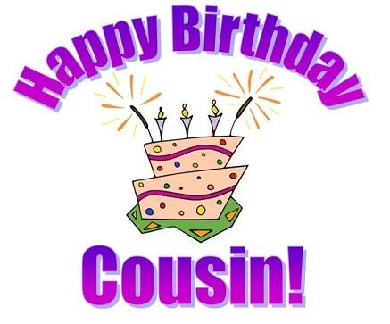 Happy Birthday Cousin Wishesgreeting